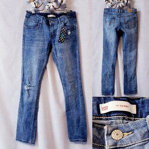 💕Levi's 711 skinny jeans girls size 14 reg💕